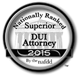 The Superior DUI Attorney badge identifies those whom NAFDD has designated as the nation's top DUI attorneys.